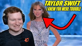 Taylor Swift - I Knew You Were Trouble Live Victoria's Secret REACTION!!!