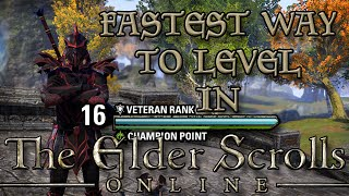 FASTEST way to LEVEL UP in ESO! (Elder Scrolls Online Quick Tips for PC, PS4, and Xbox One)