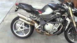 2004 MV Agusta Brutale 750S Cold Start