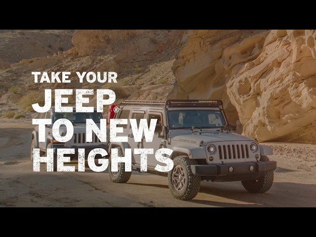 Alpine | Jeep Wrangler Product Lineup 2020 | Built for Adventure