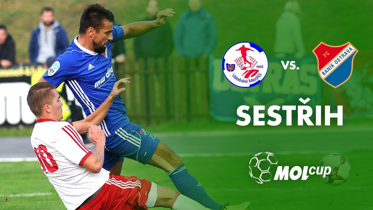 3. kolo MOL Cupu 2017 2018 - TJ Valašské Meziříčí - FC Baník Ostrava  (sestřih) 2a596b24e5