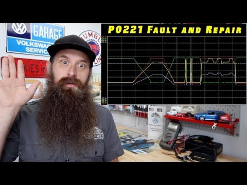 What Can Cause Check Engine Light And ESP Light With P0221 Fault