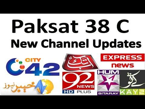 Paksat 38 New Channel List Update 2019 - YouTube