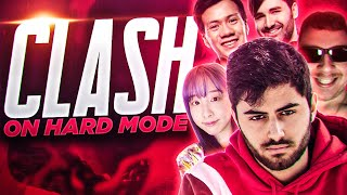 Yassuo | PLAYING CLASH ON HARD MODE Ft. Sanchovies, Voyboy, Shiphtur, Starsmitten