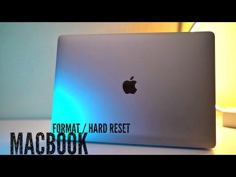 How To Format / Hard Reset MacBook Touchbar   (macOS Sierra) - YouTube