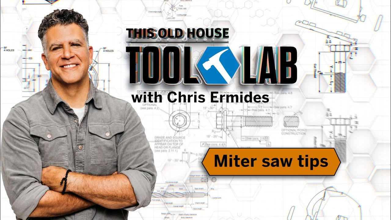 How to Tune Up a Compound-Miter Saw | Tool Lab | This Old House