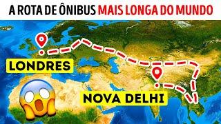 Um Ônibus que Leva Você da Índia para Londres em 70 Dias