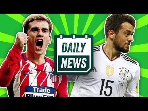 Younes zu Gladbach? Antoine Griezmann zu Barca? FC Bayern-Arzt attackiert Guardiola!