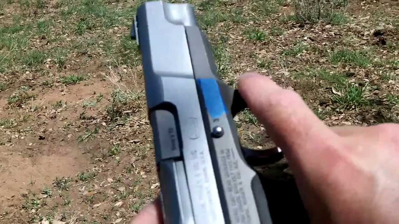 Field Review Ruger P89 Hd