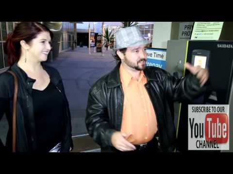 Bradley Pierce talks about Beauty And The Beast while leaving ArcLight Theatre in Hollywood
