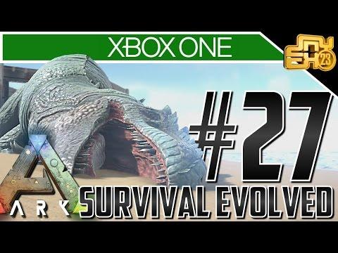 Ark Xbox One Gameplay! Ep 27 - GIGANOTOSAURS!!! (Solo Giganotosaurus / Giga Taming)