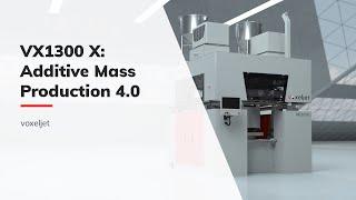 voxeljet - New 3D printing system VX1300-X