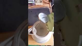 버리는 커피포트 재활용 특수공구 탈바꿈 써머스탯 체크