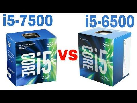 INTEL CORE i5-6500 VS i5-7500 GAMING BENCHMARK