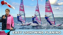 ✅ PLANING IN ALMOST NO WIND | with this pumping technique
