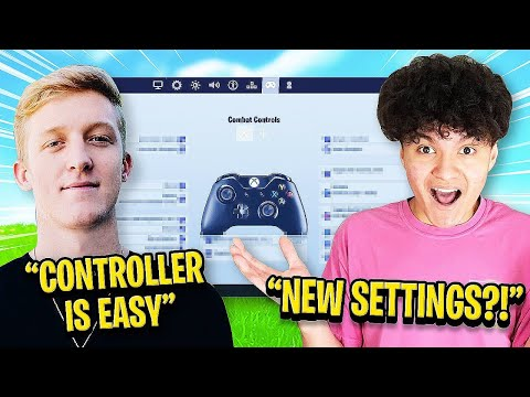 I Copied Tfue's Controller Settings In Fortnite And This Happened