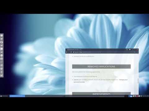 ArcoLinux -D -B 18 9 | ArcoLinux info