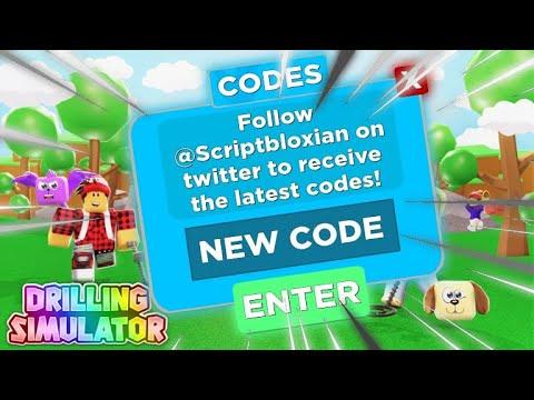 New Code Drilling Simulator Roblox - all codes for drill simulator roblox