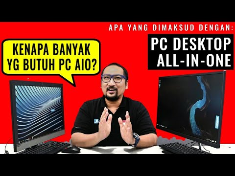 Apa Itu PC All-in-One (AIO)? Kenapa Banyak Digunakan? Murah, atau Ada Sebab Lain?