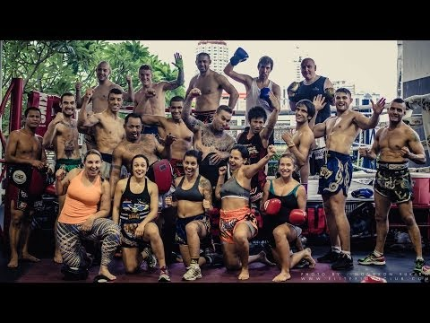 The Steel Team at Elite Fight Club, Bangkok