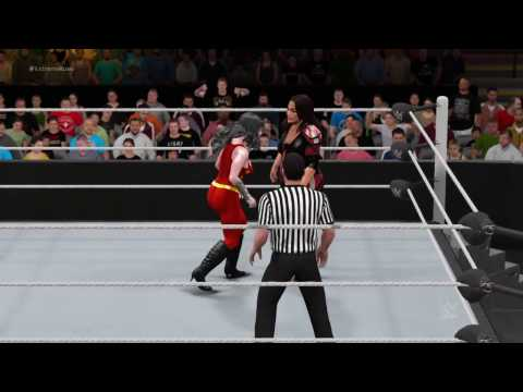 WWE 2K17 Donna Troy vs. Nia Jax - Extreme Rules