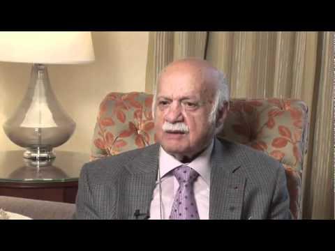 Global Interfaith Conference on Sustainable Development Interview with Professor Suheil Badi Bushrui