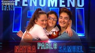 Fenómeno Fan (T2) | Éxitos latinos para Nayra, Samuel y Pablo
