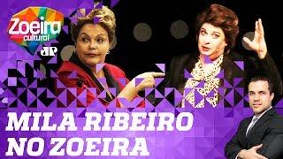 Felipe Moura Brasil entrevista Dilmoca Rousseff (Mila Ribeiro) - Zoeira Cultural: Ep. 18