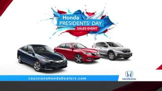 louisiana honda dealers want more get more president day accord
