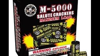 M-5000 Salute Crackers - Cutting Edge Fireworks