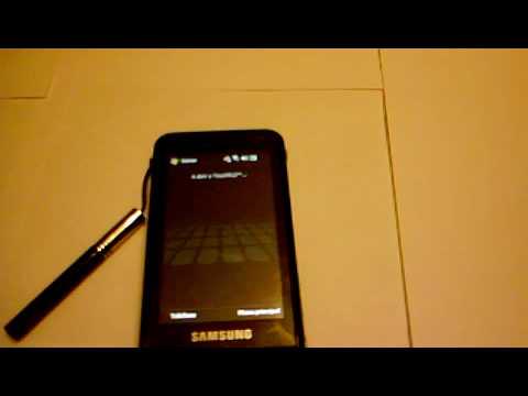 TouchFlo on Samsung i900 OMNIA
