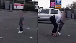 Stranger Rescues Toddler Wandering Busy Road, Takes Him to Parents at a Bar