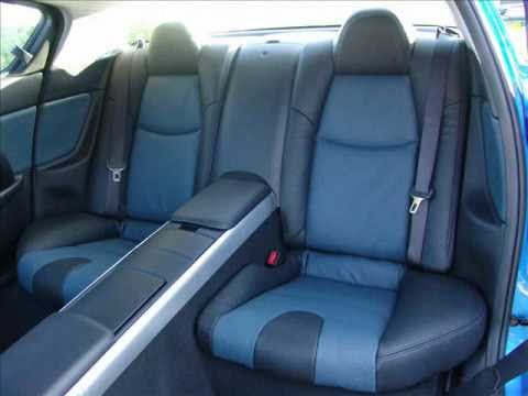 Bespoke leather interior for Mazda RX8 by The Seat Surgeons - YouTube