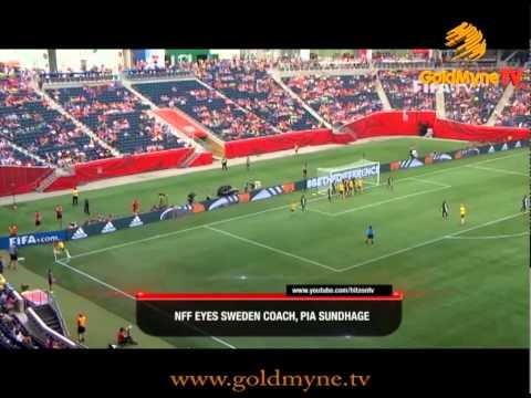 GOLDMYNETV: NFF EYES SWEDEN COACH, PIA SUNDHAGE