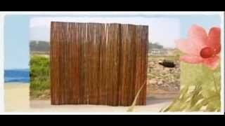 Bamboo Fence | Bamboo Fencing | Rolled Bamboo Fences