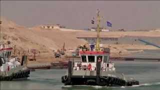 مصر تحتفل بافتتاح قناة السويس الجديدة