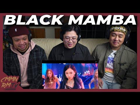 AESPA REACTION | BLACK MAMBA MV