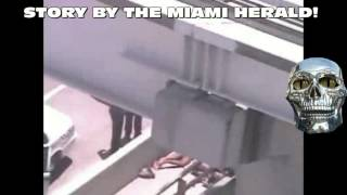 Real life Zombie Attack in miami florida! Man is shot to death eating anothe mans face!