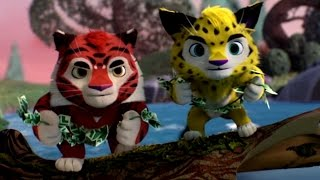 Лео и Тиг - Серебряная река - Серия 5 - Новые  мультфильмы  для детей о тайге и её жителях