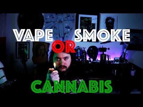Vape or Smoke Cannabis? – Why I Dry Herb Vape