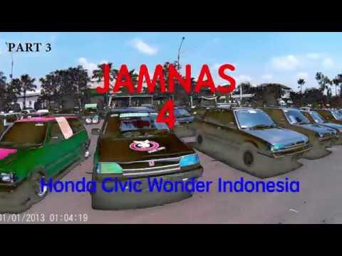 JAMBORE NASIONAL HONDA CIVIC WONDER INDONESIA KE-4 PATI - PART 3
