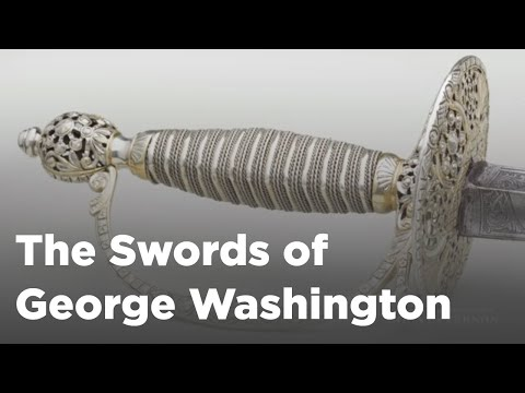 Erik Goldstein discusses his book: The Swords of George Washington