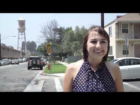 Jenna at Warner Brothers
