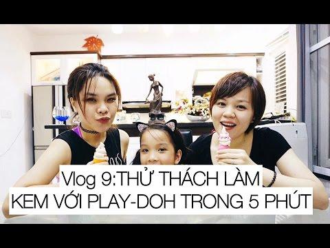Song Thư Vlog: Thử thách làm kem bằng Play-Doh trong 5 phút - SONG THƯ CHANNEL
