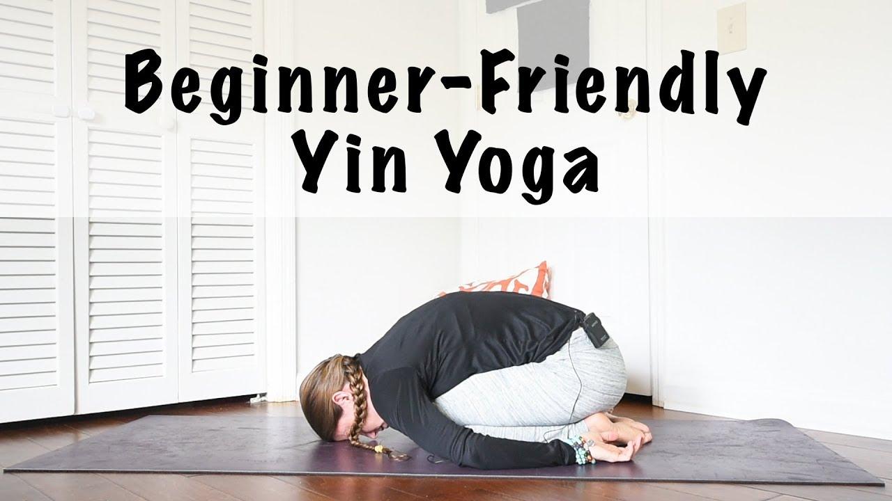60 Minute Beginner Yin Yoga Sequence The Artisan Life