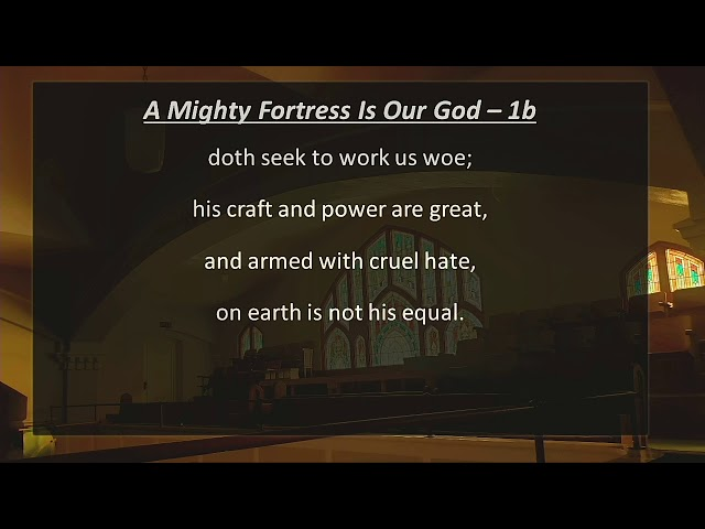 Sunday Worship - 10/25/2020