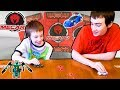 Mecard Action Battling Game From Mattel!! Awesome Transforming Robot Cars Card Game For Kids