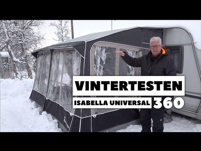 Vintertesten - Isabella Universal 360/Vintersikring/Termoloft