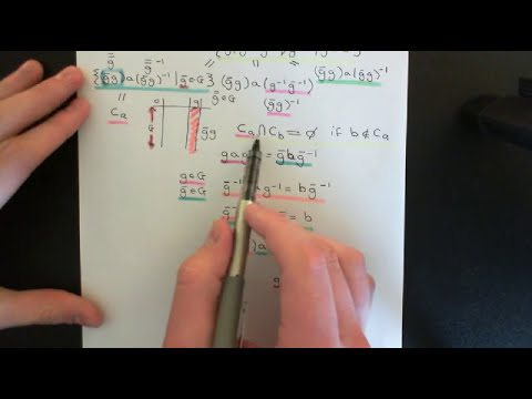 The Class Equation Part 2