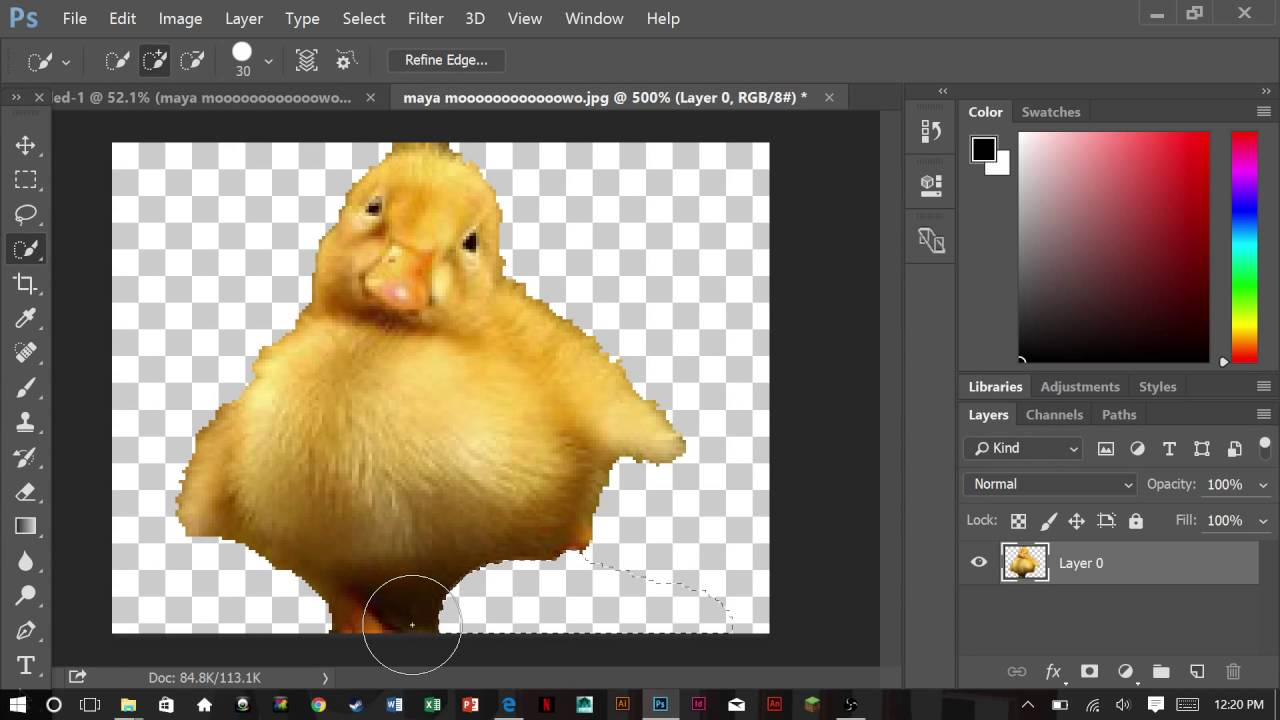 How To Cut Out A Shape In Photoshop (the Quick And Easy